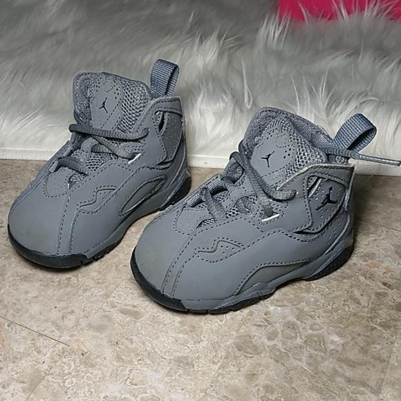 Baby Jordans Gray Shoes Size 4c | Poshmark